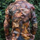 Jacket made of human flesh