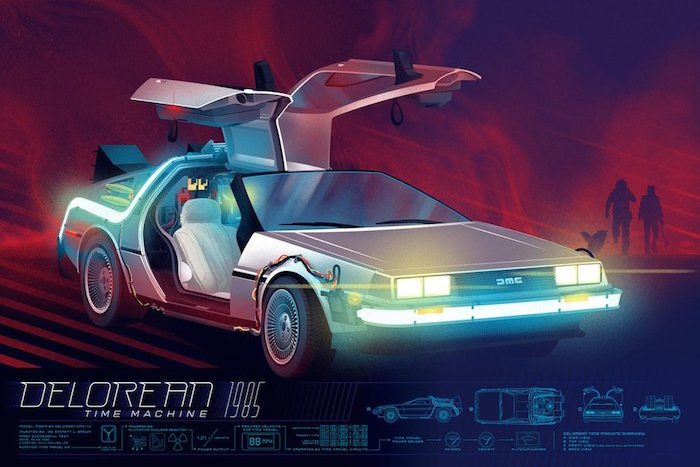 "THE UNSUNG HERO OF THE BACK TO THE FUTURE FRANCHISE, ""THE DELOREAN"""