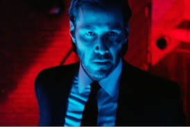 John Wick red background